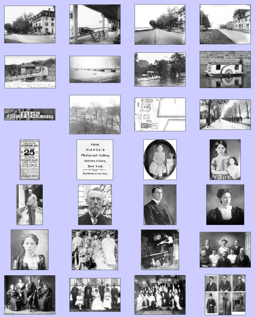 2016 champlain historic calendar images in back