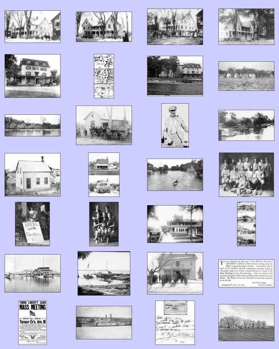 2016 champlain historic calendar images