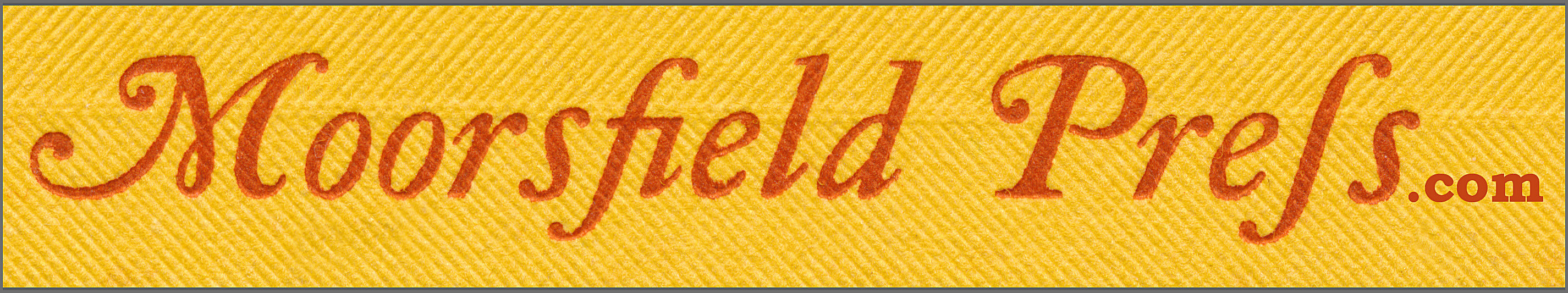 moorsfield press.com banner image