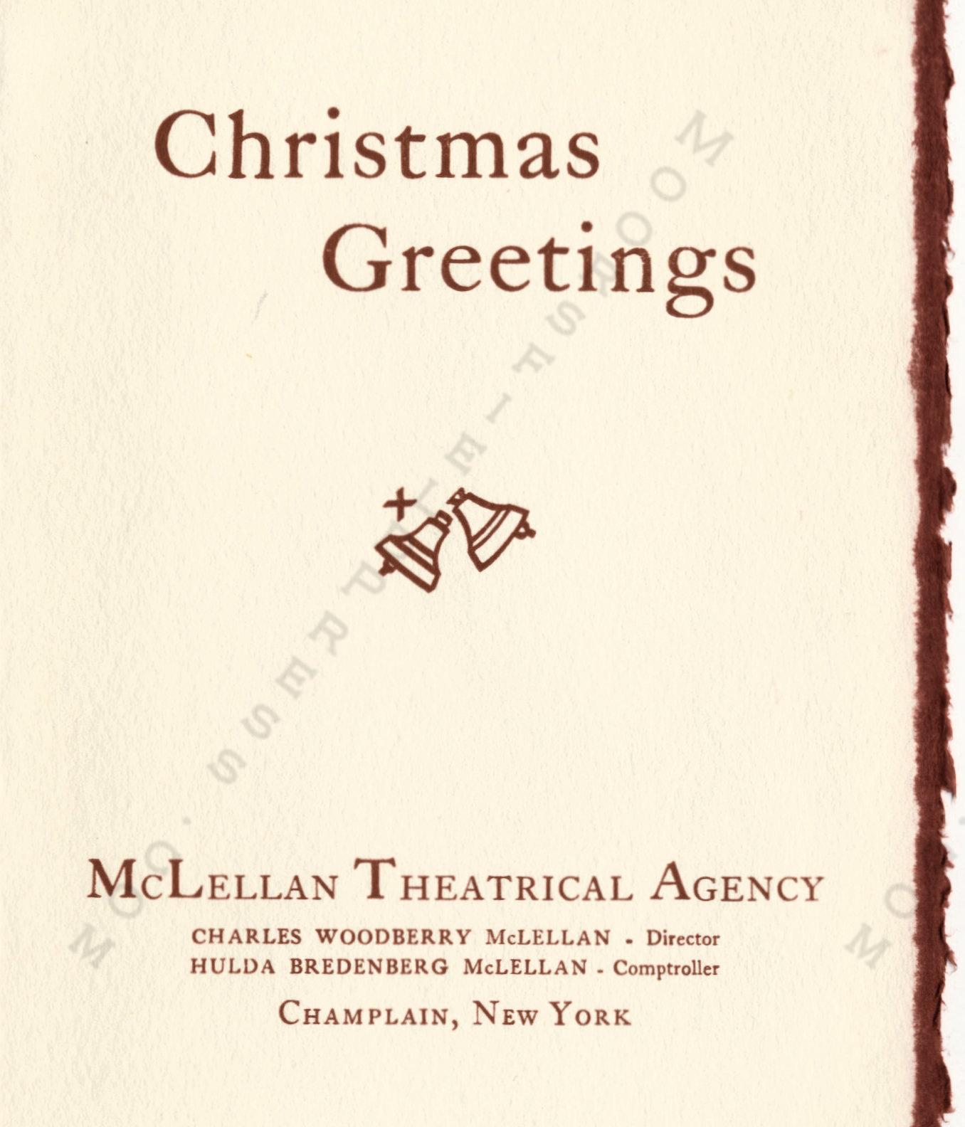 The Mclellan Christmas Cards